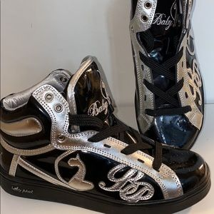 BABY PHAT high top runners